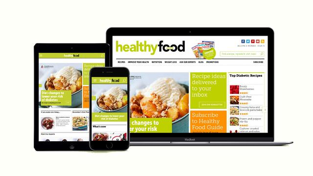 Healthy Food Guide Responsive Design by Rhapsody .jpg